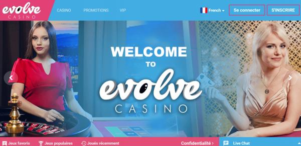 Notre avis sur le casino en ligne Evolve