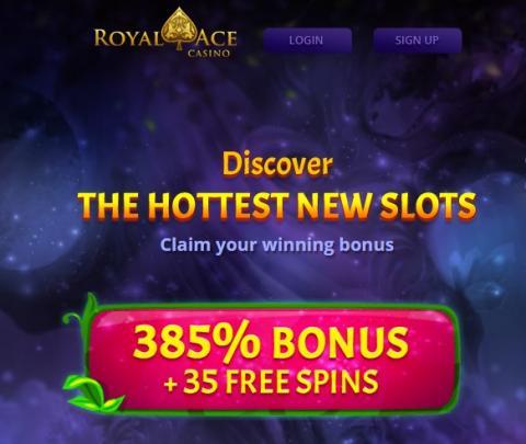 Royal Ace Welcome Bonus