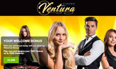 Casino Ventura Welcome Bonus