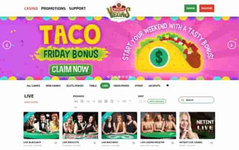 Mucho Vegas Casino Taco Bonus