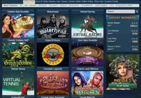 Oceanbets Casino Games