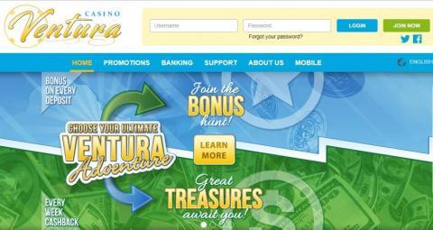 Cash Back Bonus Casino Ventura